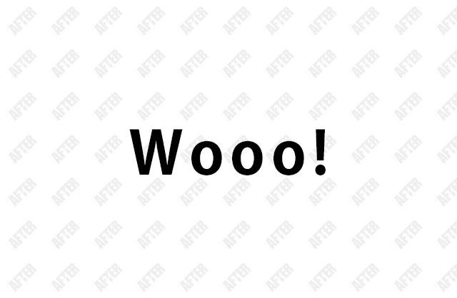 Wooo!